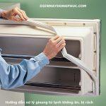 Gioăng tủ lạnh bị rách, không ăn phải làm sao ? Xem hướng dẫn xử lý