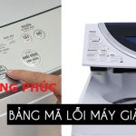 Bảng mã lỗi máy giặt Toshiba inverter, thường, nội địa nhật