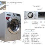 Bảng mã lỗi máy giặt LG inverter mới chất, đầy đủ, chính xác nhất
