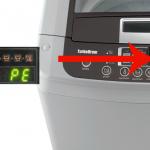 Lỗi PE ở máy giặt LG Inverter 3 nguyên nhân và cách khắc phục