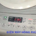 Cách khắc phục máy giặt Toshiba inverter báo lỗi E95 từ a - z
